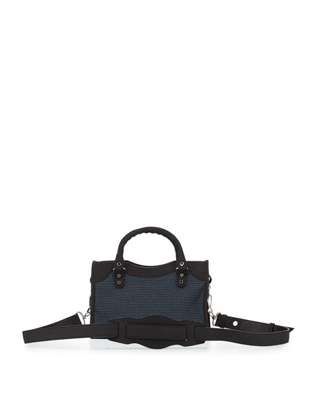 Classic City Mini Bag, Blue/Red/Black