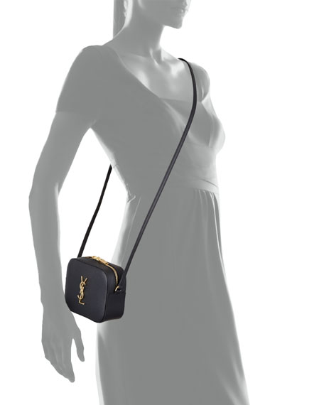 Image 3 of 3: Monogram Camera Crossbody Bag, Black