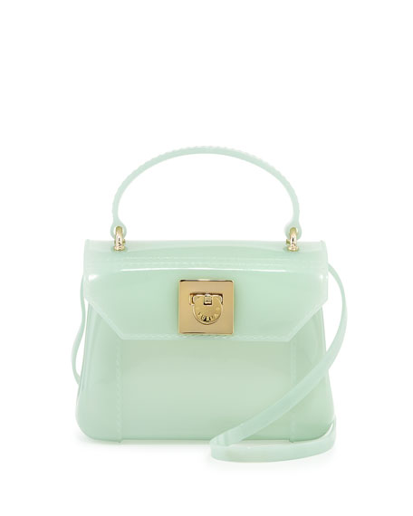 Candy Bon Bon Mini Crossbody Bag, Aqua