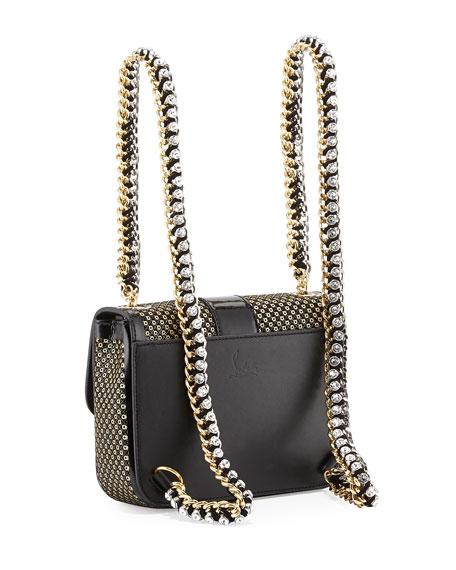 Sweet Charity Mini Backpack, Black/Gold