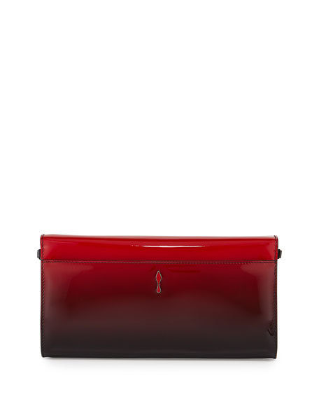 Christian Louboutin Riviera Patent Degrade Evening Clutch Bag ...