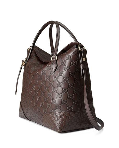 647ad5a2c Gucci Guccissima Bree Handbag | Stanford Center for Opportunity ...