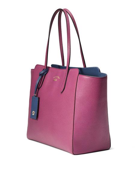 Swing Medium Tote Bag, Pink/Blue