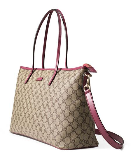 33efba74f21f Gucci GG Supreme Canvas Medium Tote Bag