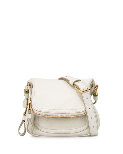 Jennifer Mini Crossbody Bag, White