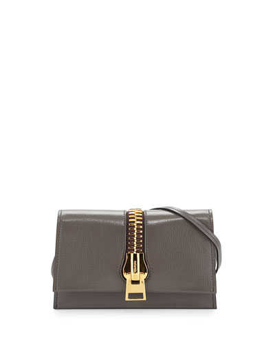 Sedgwick Zip Crossbody Bag, Dark Gray