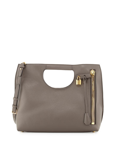 Alix Medium Shopper Tote Bag, Dark Gray