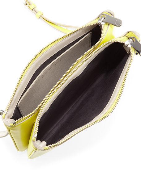 Ligero Double Percy Crossbody Bag, Zest