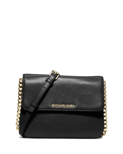 Bedford Double-Gusset Crossbody Bag, Black