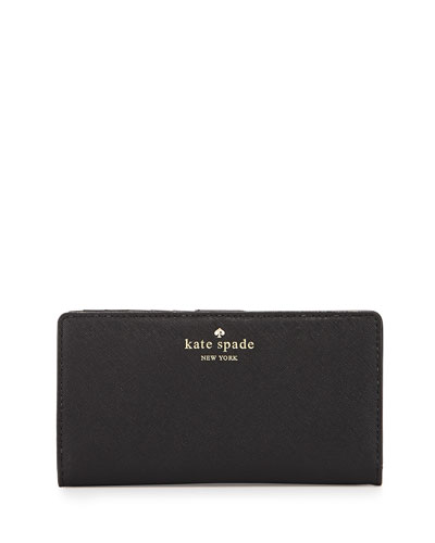 cedar street stacy wallet, black