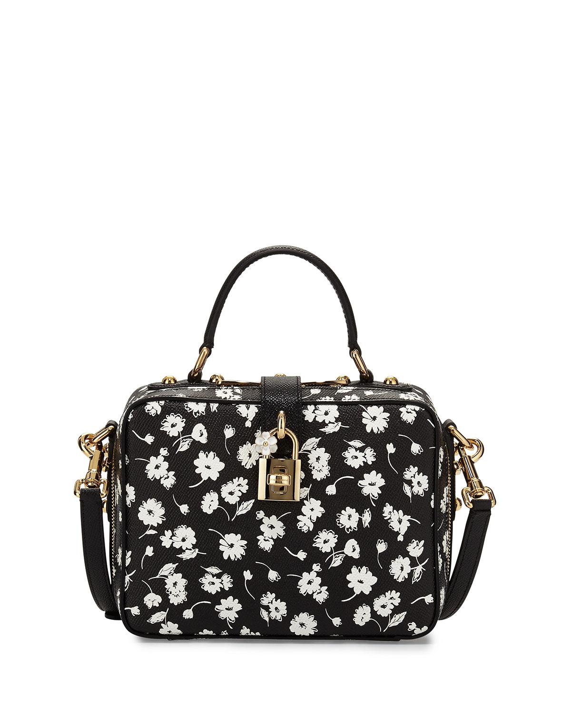 90db2dc94e Dolce   Gabbana Rosaria Floral-Print Zip-Around Shoulder Bag