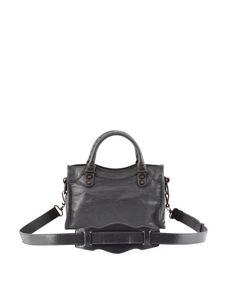 Classic City Mini AJ Bag, Gray