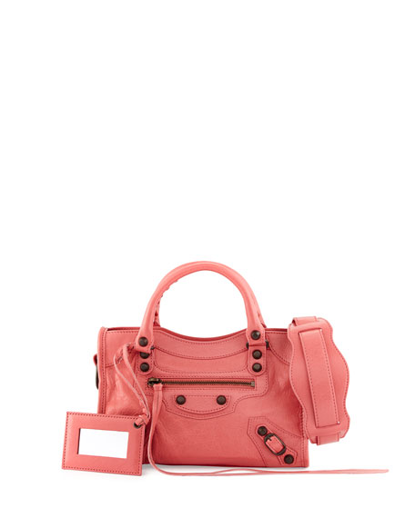 Balenciaga Classic City Mini AJ Bag, Rose