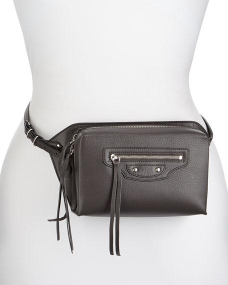 Papier Zip-Around Belt Bag, Gray