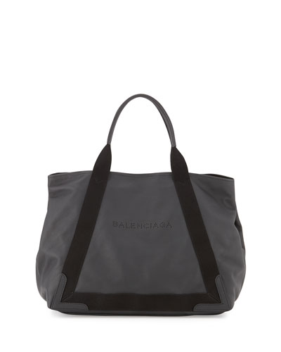 Cabas Medium Tote Bag, Black