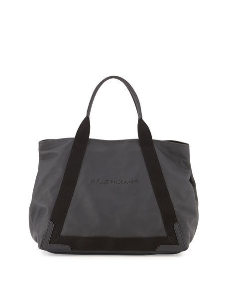 BalenciagaCabas Medium Tote Bag, Black