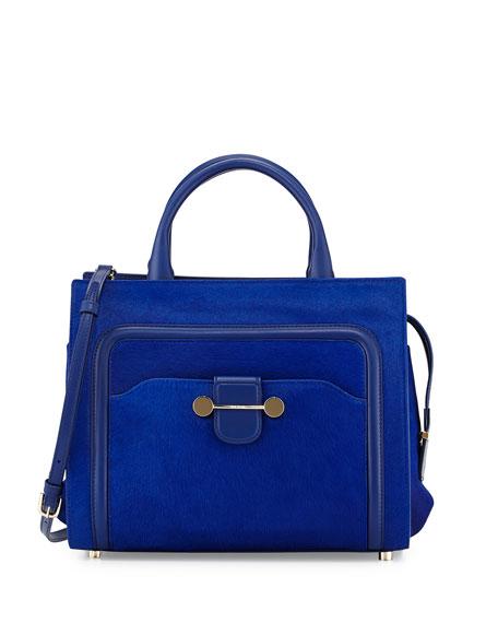Jason Wu Daphne Calf-Hair Tote Bag, Blue