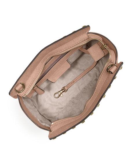 5c508bfdb61d MICHAEL Michael Kors Selma Stud Medium Messenger Bag, Blush