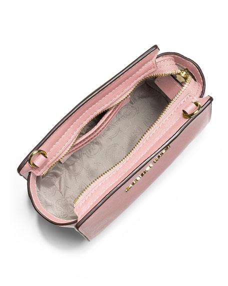 Selma Mini Saffiano Messenger Bag, Blossom