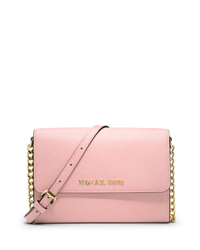 Jet Set Travel Wallet-on-a-Chain, Blossom
