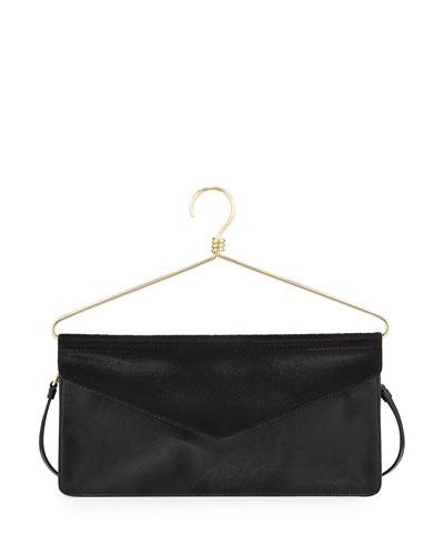 Hanger Crossbody Bag, Black