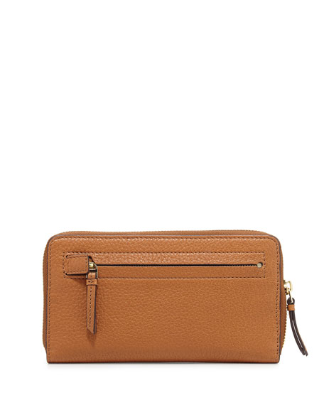 Brody Continental Zip Wallet, Bark