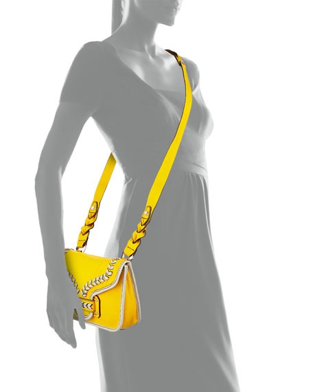 Reilly Leather Crossbody Bag, Sun/Multi