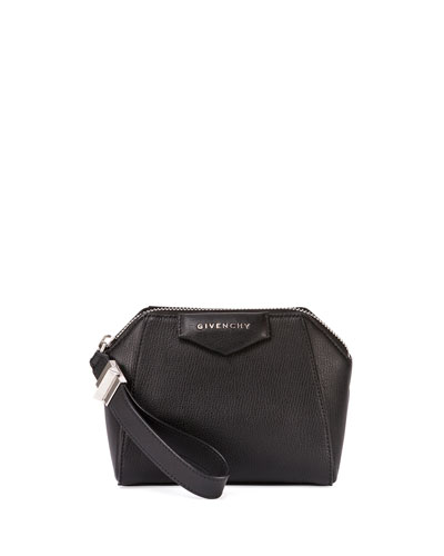 Antigona Small Beauty Wristlet, Black