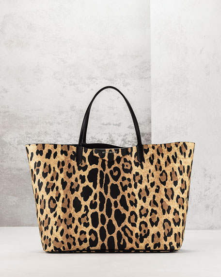 Givenchy Antigona Large Leather Ping Tote Bag Animal Print Neiman Marcus