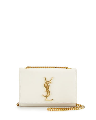 Monogramme Small Crossbody Bag, White