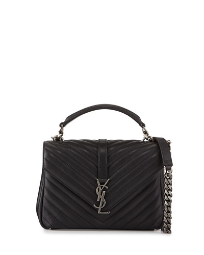 Monogramme Boyfriend Medium Crossbody Bag, Black