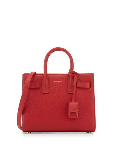 Sac de Jour Nano Crossbody Bag, Red