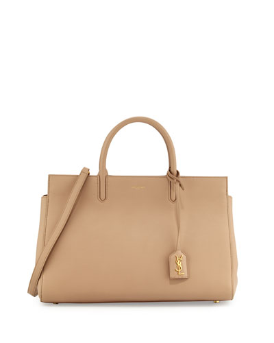 Monogramme East-West Tote Bag, Dark Beige