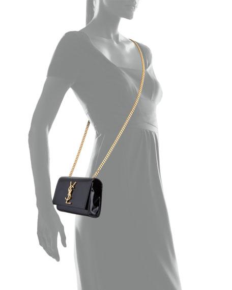 Monogram Small Crossbody Bag, Nero