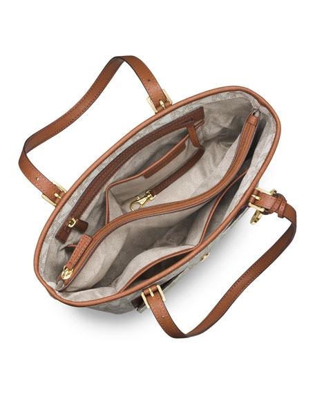 9e3921f8d0f49 MICHAEL Michael Kors Jet Set Medium Snap-Pocket Tote Bag