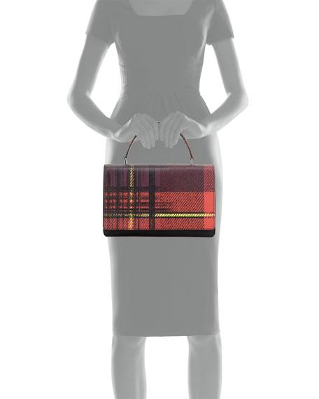 faux prada handbag - Prada Tessuto and Saffiano Print Top-Handle Bag, Red Multi (Rosso ...