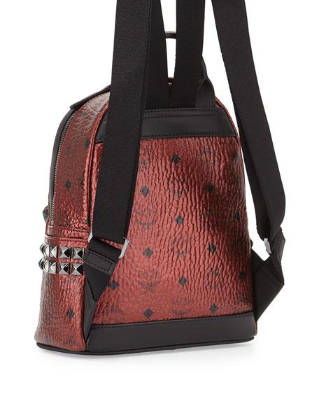 Stark Side Stud Mini Backpack, Metallic Scooter
