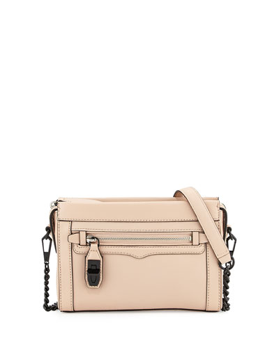 Crosby Mini Crossbody Bag, Latte