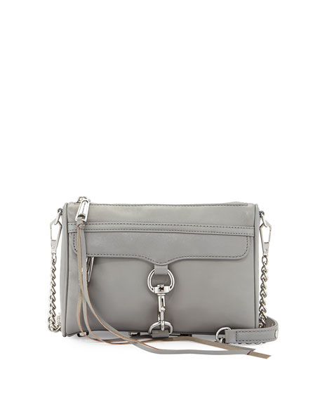Mini MAC Crossbody Bag, Charcoal