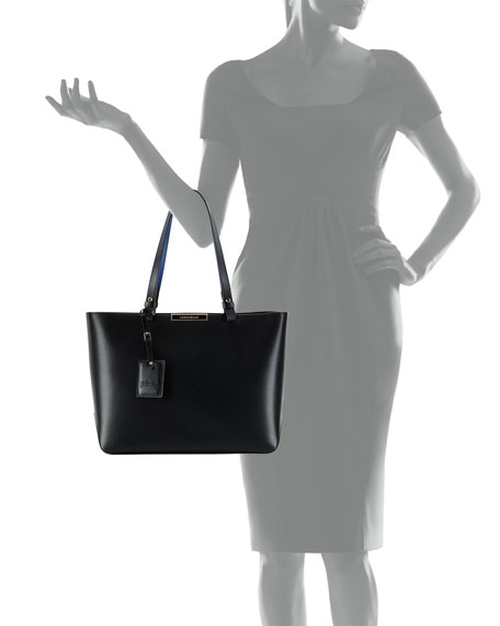 Le Foulonne City Medium Tote Bag Black
