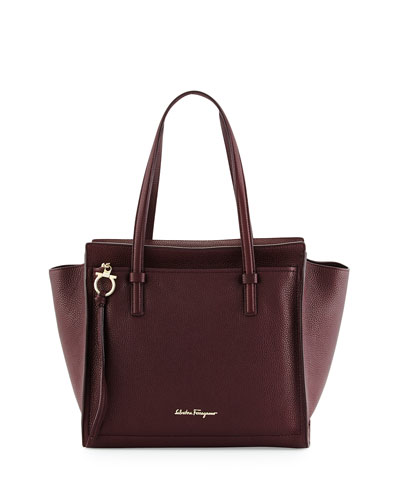 Amy Gancini Medium Tote Bag, Rouge Noir