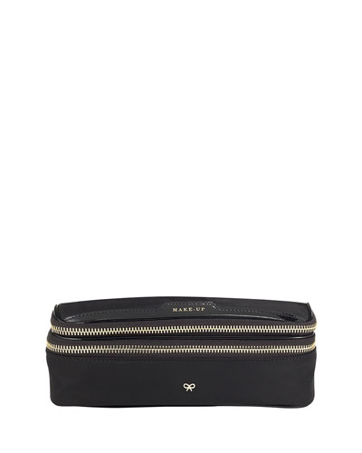 Nylon Make Up Case, Black
