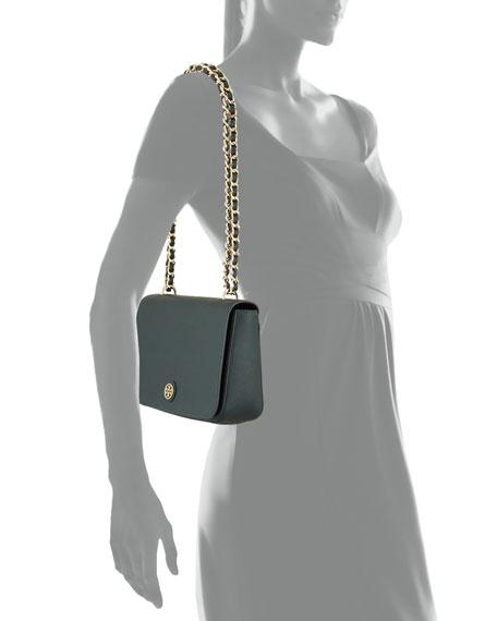 Tory Burch Robinson Adjustable Shoulder Bag, Jitney Green