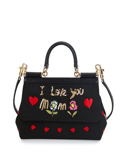 "Miss Sicily ""I Love You Mama"" Bag"