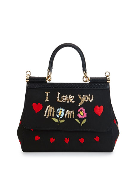 "Miss Sicily ""I Love You Mama"" Bag"