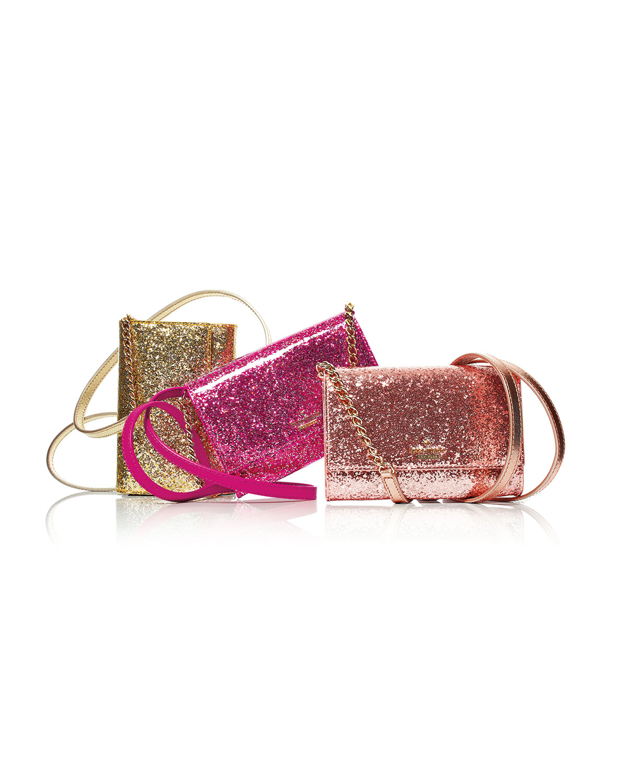 55214a1e5 kate spade new york glitter bug cami crossbody bag, red/multi   Neiman  Marcus