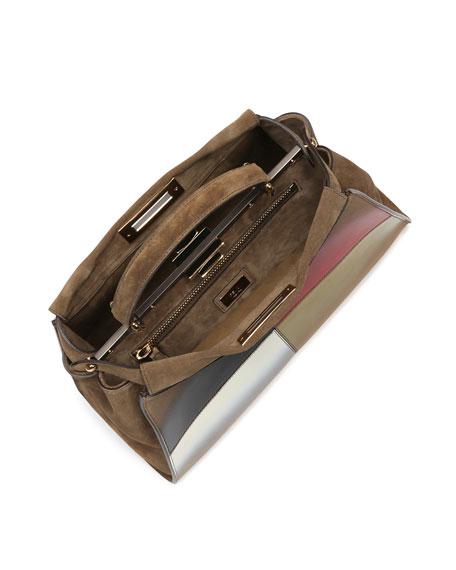 Peekaboo Medium Gradient Satchel Bag