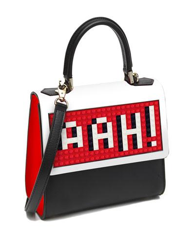 """Mini Alexa """"Aah"""" Shoulder Bag, Black"""