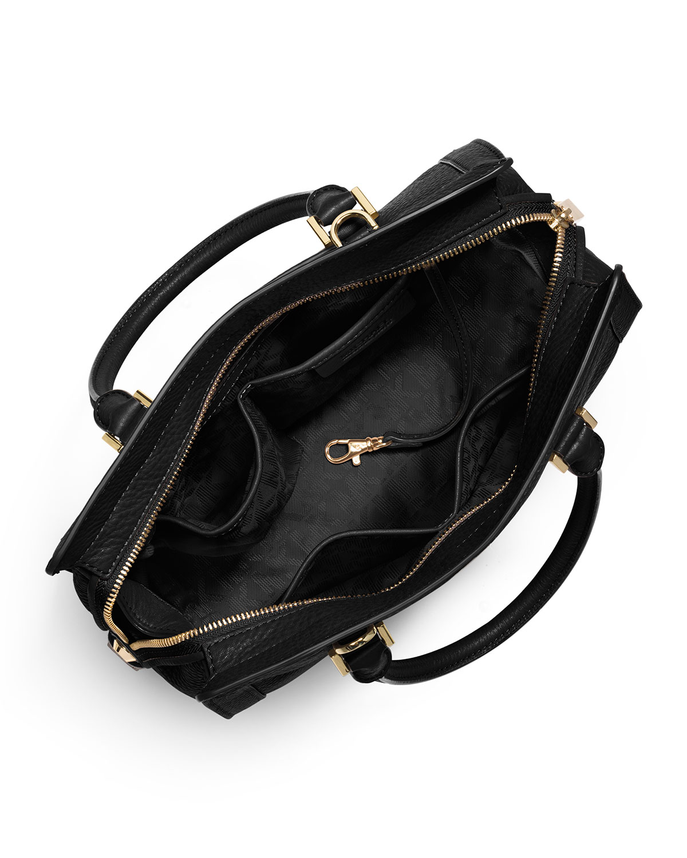 7dfe392be67b Collins Medium Satchel Bag, Black