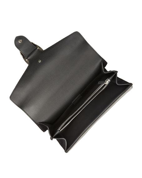 Testa Tigre Small Suede Dionysus Shoulder Bag, Black